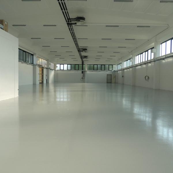 Vista Nuovo Ampliamento con pavimento in resina